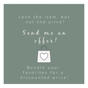 Send me a offer or bundle and save on your faves!